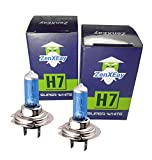 2x H7 Halogen Lampen in Xenon Optik, 8500K 55W...
