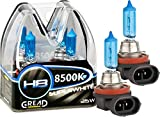 Gread - 2x H8 Halogenlampe Xenon Style - weiss -...